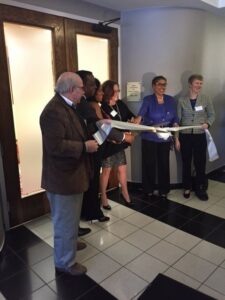 Ribbon cutting at Hope Connections Landover office
