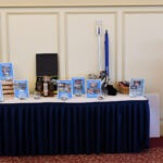 A table display at an event